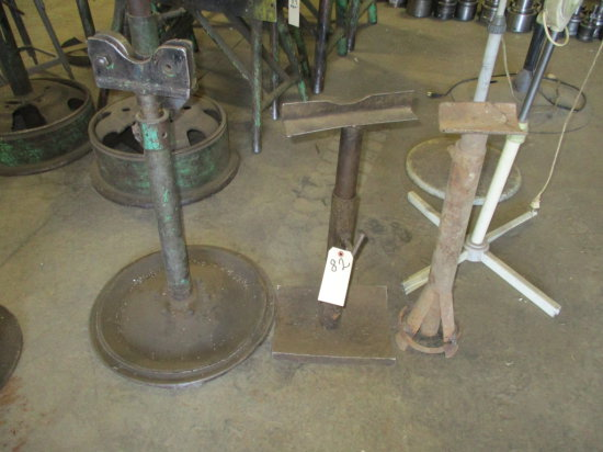 LOT OF 3 PIPE STANDS