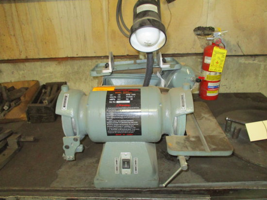 BENCH TOP TOOL CUTTER GRINDER 1/2 HP
