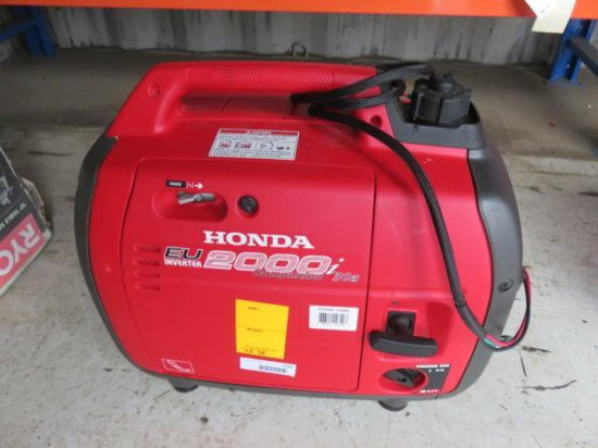 HONDA EU2000I COMPANION 30A GAS PULL START INVERTER