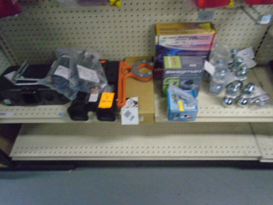 LOT ASSORTED HITCH ACCS.