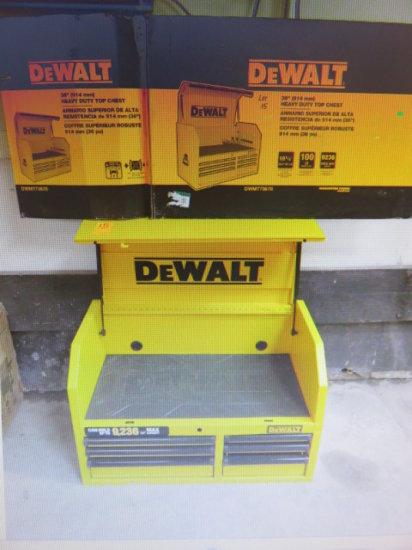 DEWALT PORTABLE TOOL CHEST MDL DWMT173678 DENTED