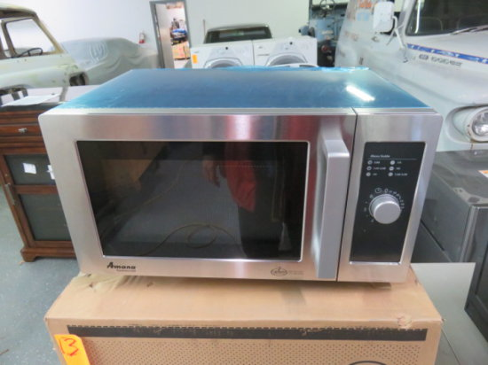 AMANA COMMERCIAL MICROWAVE MDL RMS10DS
