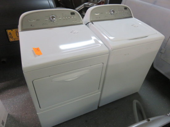 WHIRLPOOL CABRIO WASHER AND DRYER MDL 566212 AND 566312