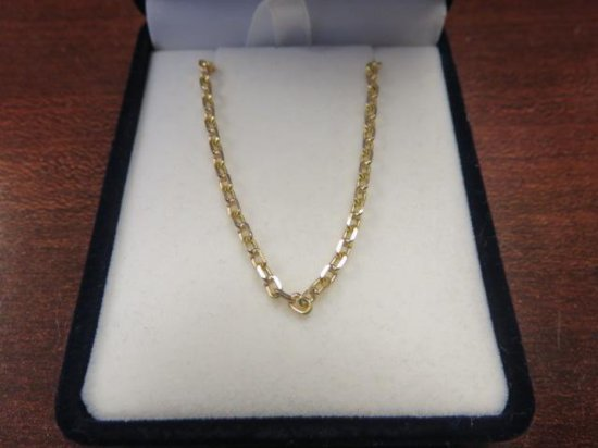 MEN'S 18K GOLD EUROPEAN CHAIN