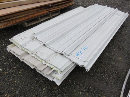 PALLET W/METAL SIDING/ROOFING