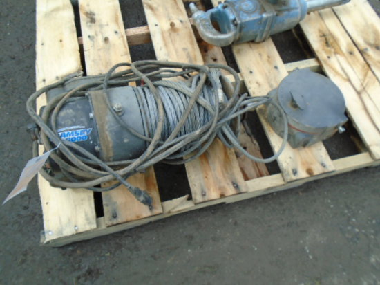 RAMSEY 8000 ELECTRIC WINCH