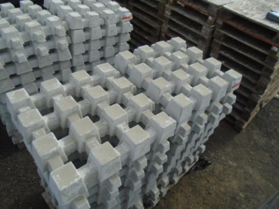 1 AND A 1/2 SKIDS OF CONCRETE EROSION MAT