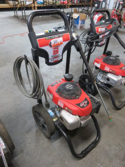 SIMPSON 3000 PSI GAS PRESSURE WASHER 2.4 GPM, HONDA GCV 190 POWER (HAS OIL