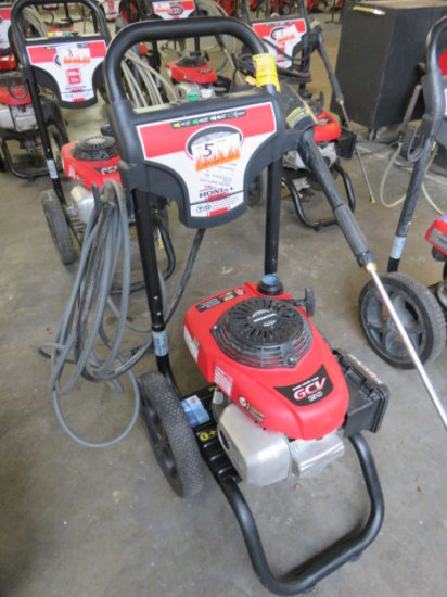 SIMPSON 3000 PSI GAS PRESSURE WASHER 2.4 GPM, HONDA GCV 190 POWER