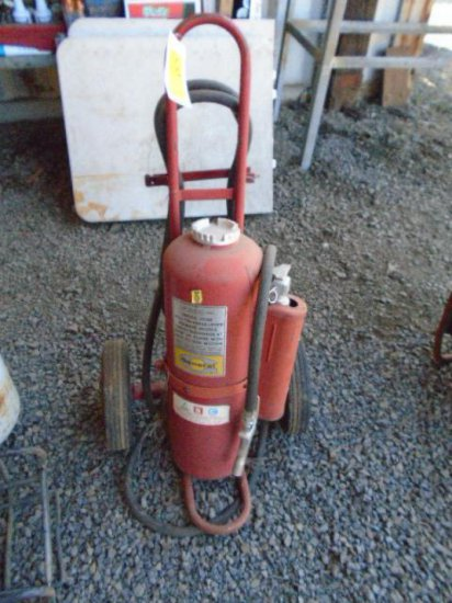 GENERAL CART MOUNTED FIRE EXTINGUISHER