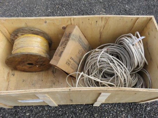 TOTE OF ASSORTED SIZED WIRE