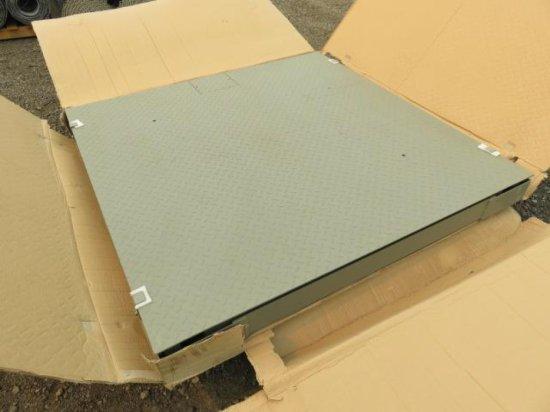 PALLET W/DTK INDUSTRIES 5' X 5' 10 TON PLATFORM SCALE
