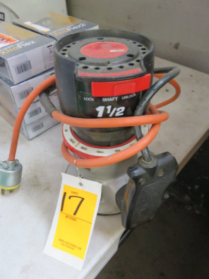 CRAFTSMAN 1.5 HP ROUTER