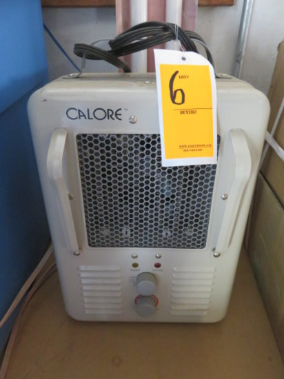 CALORE ELECTRIC HEATER AND 4' SHOP LIGHT