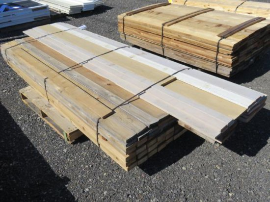 PALLET W/ASSORTED LENGTH 1'' X 4'' & 2'' X 4'' LUMBER