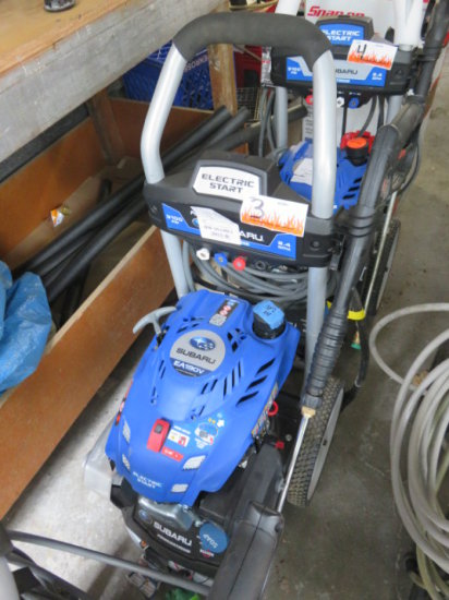 Subaru EA190V Powerstroke pressure washer, gas, 3100 psi, elect