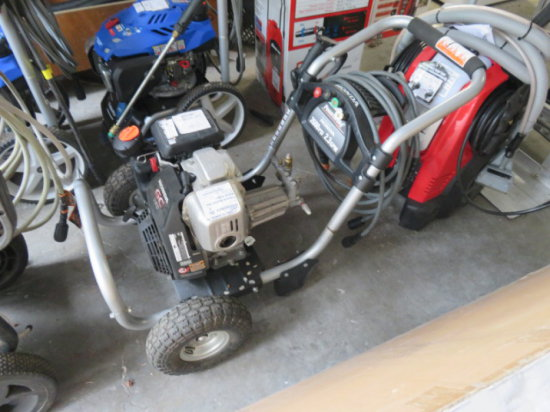 Powerstroke gas pressure washer 2600psi, Honda GC160