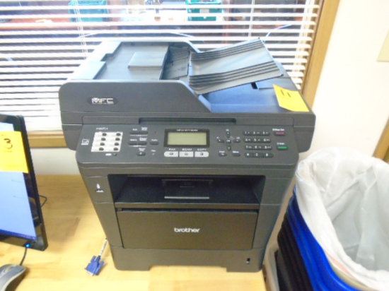 BROTHER MFC-8710DW MULTI-FUNCTION LASER PRINTER