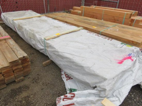 APPROX. (100) TONGUE & GROVE 1'' X 6'' X 16'' BOARDS (FLOORING)