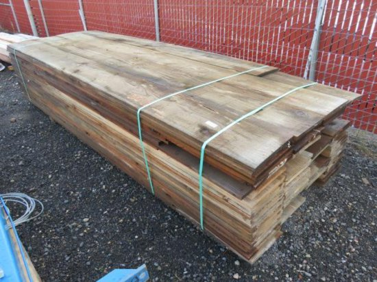 (120) 1' X 12'' X 12' ROUGH SAWN LUMBER