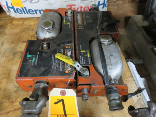 (2) DITCH WITCH PIERCING TOOL OILER