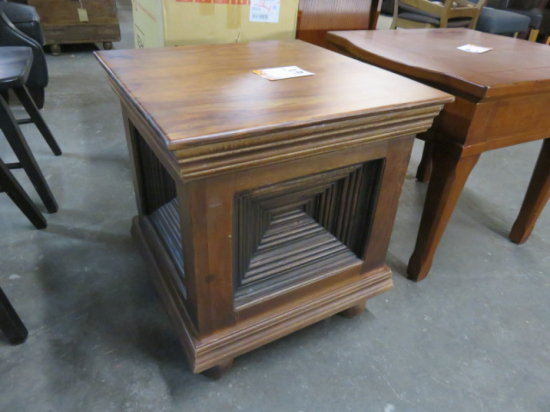 PORTER INT. WOOD END TABLE