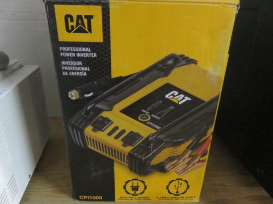CAT CPI1000 POWER INVERTER, NO JUMP CABLES