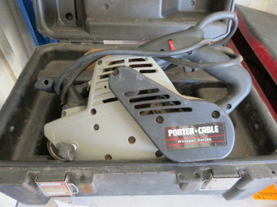 PORTER CABLE 4 X 24 VARIABLE SPEED BELT SANDER, MODEL# 362VS
