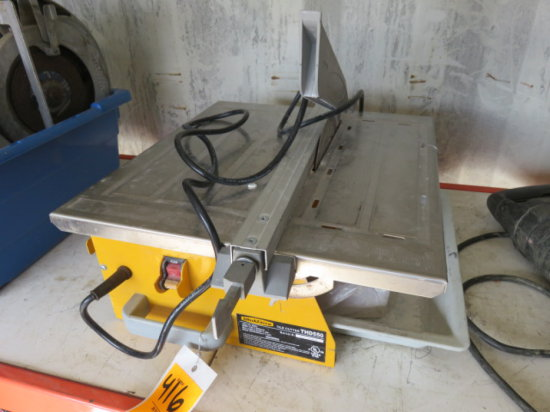 WORK FORCE TILE CUTTER MODEL# THD550
