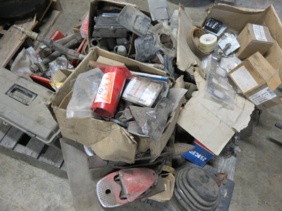 ASSORTED HARDWARE & WELDER PARTS