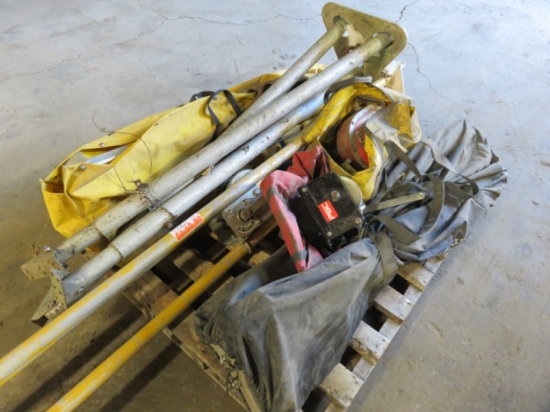 LOT OF MANHOLE RESCUE SYSTEMS