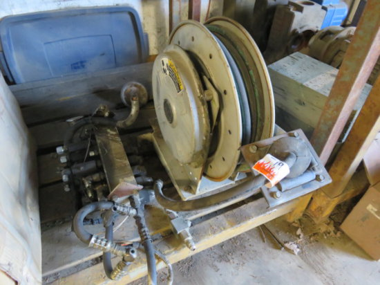 HOSE REEL AND HYDRAULIC DISTRIBUTION