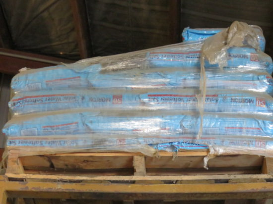 PALLET OF WATER SOFTNER SALT