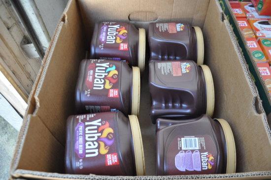 BOX OF 6 - 29 OZ YUBAN GROUND COFFEES