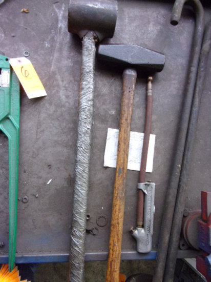 (2) ASSORTED SLEDGE HAMMERS