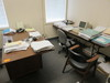 CONTENTS OF OFFICE - (2) DESKS, OFFICE CHAIRS, (2) 4 DRAWER FILE CABINETS