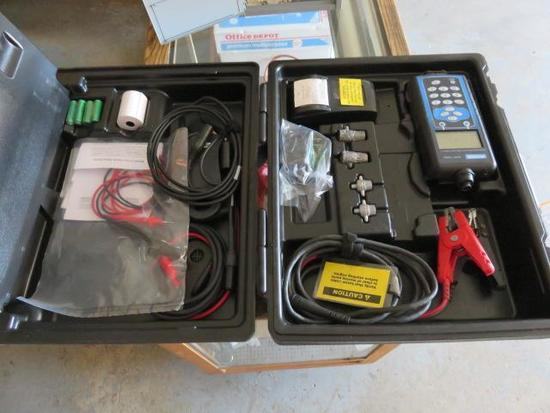 MIDTRONICS EXP-1000 BATTERY TESTER IN CASE