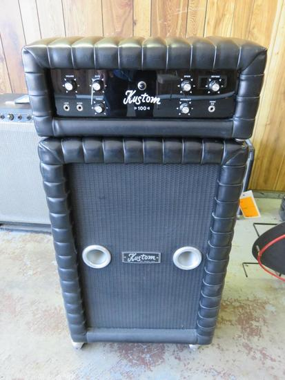 KUSTOM K100-J TUCK AND ROLL AMPLIFIER