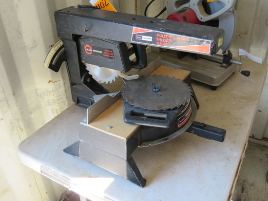 CRAFTSMAN 7 1/2'' RADIAL ARM MITER SAW