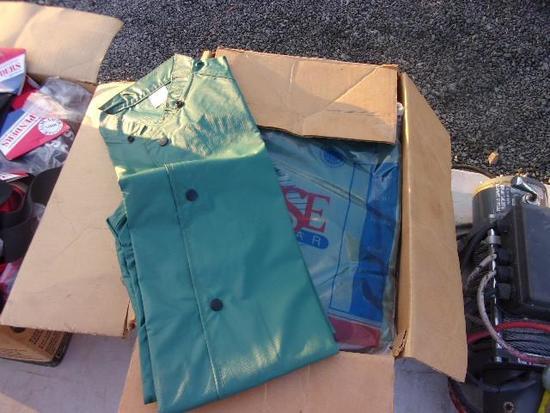 BOX W/ NEESE RAIN JACKETS