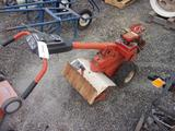 MONTGOMERY WARD GAS POWERED ROTOTILLER (MISSING PARTS)