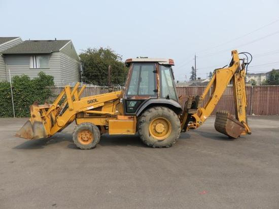 CASE 580L LOADER BACKHOE   Heavy Construction Equipment