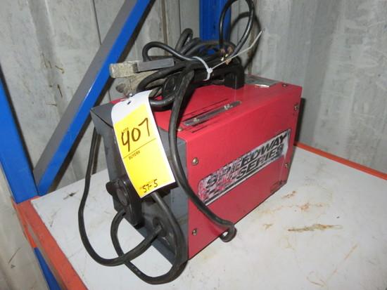 SPEEDWAY SERIES 100AMP, 230V, PORTABLE ARC WELDER