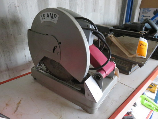 CHICAGO ELECTRIC 14'' INDUSTRIAL CUT OFF SAW