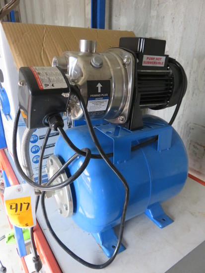 PACIFIC HYDROSTAR (1) H.P. SHALLOW WELL PUMP, 920 GPM
