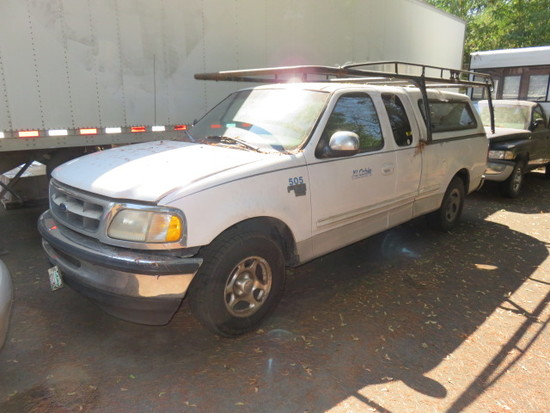 1998 FORD F150 XTRA CAB PICKUP VIN#1FTZX1764WKA89779 (SOLD WITH OREGON LIEN