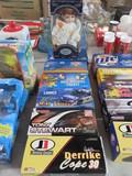 (6) ACTION NASCAR TOYS