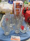 FLAT COCA COLA GLASS WARE