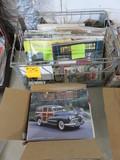 (2) BOXES OF ANTIQUE AUTOMOBILE MAGAZINES