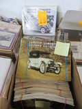 (7) BOXES OF ANTIQUE AUTOMOBILE MAGAZINES